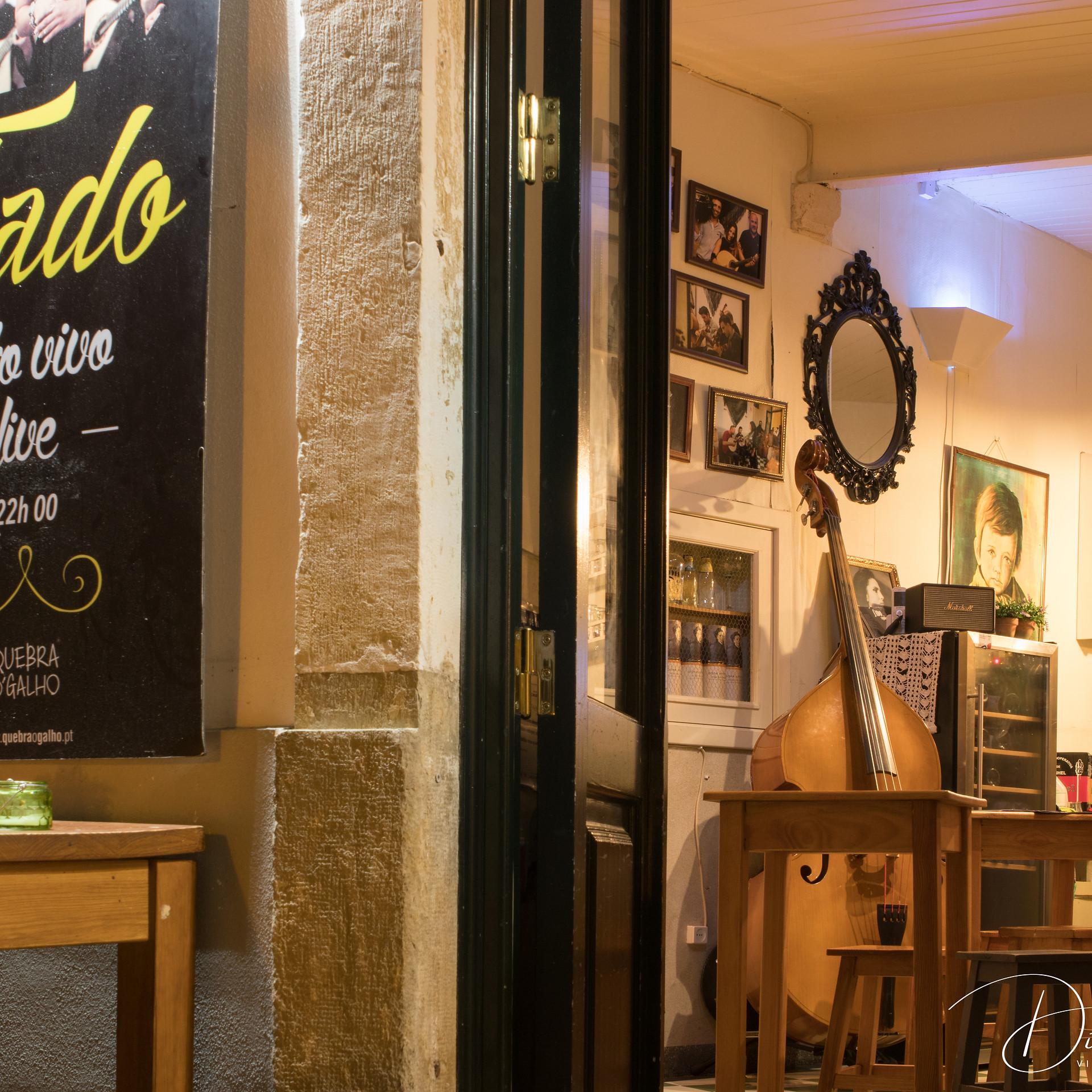 Fado cafe, Coimbra, Portugal