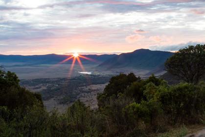 Sunrise, Ngorogoro CA