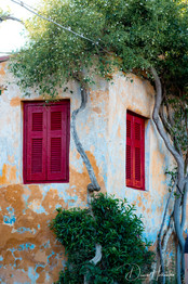 Corner of a house, Athens