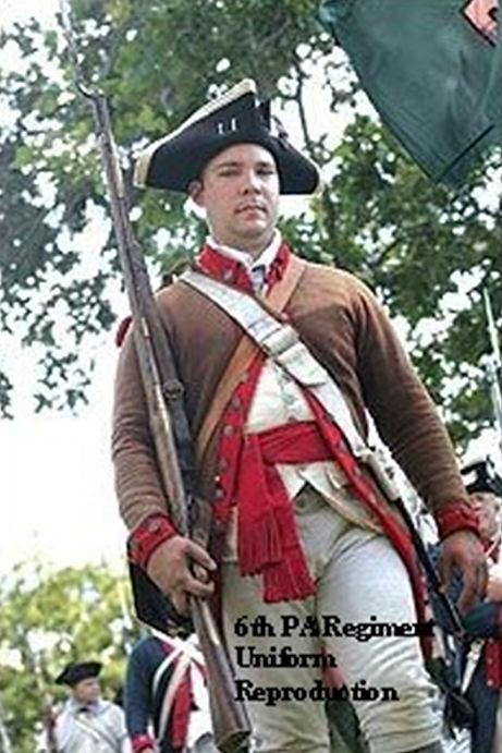 6th PA Regiment Uniform reproduction 4x6