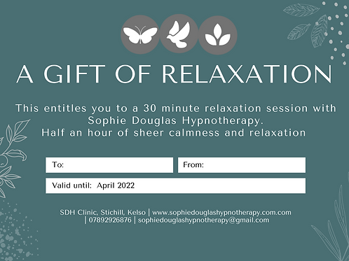 Relaxation Session Voucher