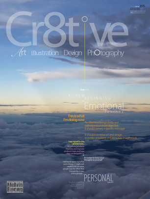 Cr8tive no.9 Personal / Design Layout