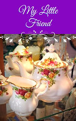 My Little Friend Book Cover for Collecti