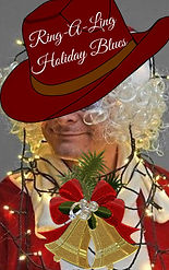 Ring-A-Ling Holiday Blues book cover for