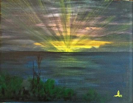 Sunrise ~ From N. Carolina Mainland.JPG