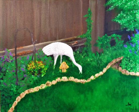 My Garden ~ Yard Art.JPG