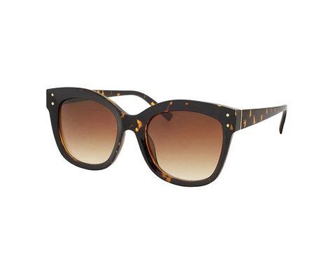 Classic Cat Eye Sunglasses-Tortoise Shell