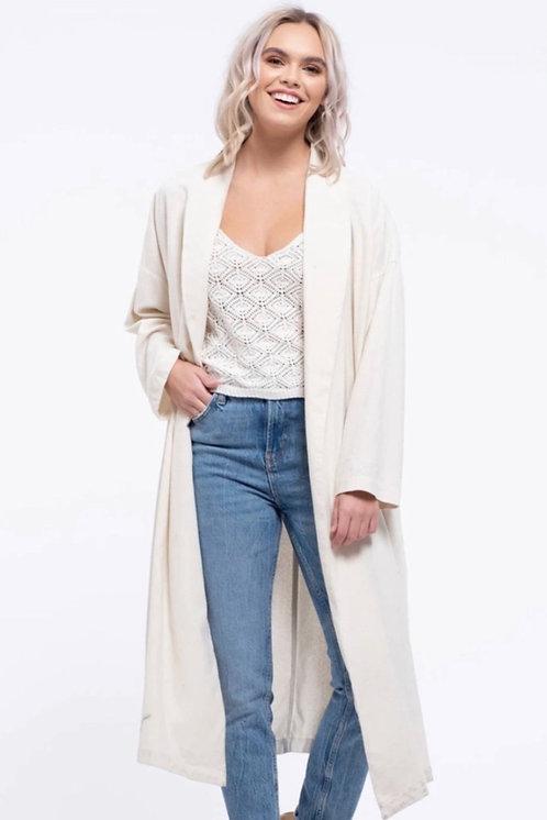Open Lapel Style Jacket