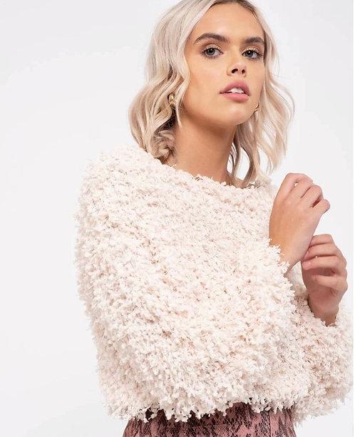 Soft Ivory popcorn Sweater