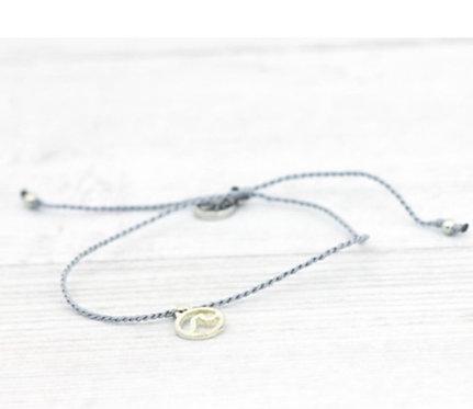 Wave Bracelet-Grey