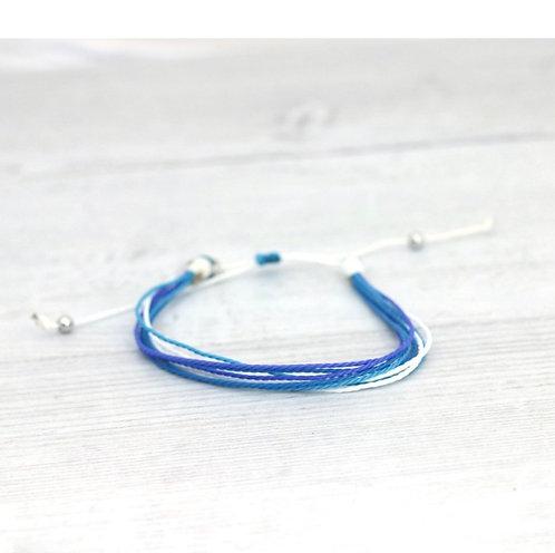 Beach Days Bracelet-Cobalt