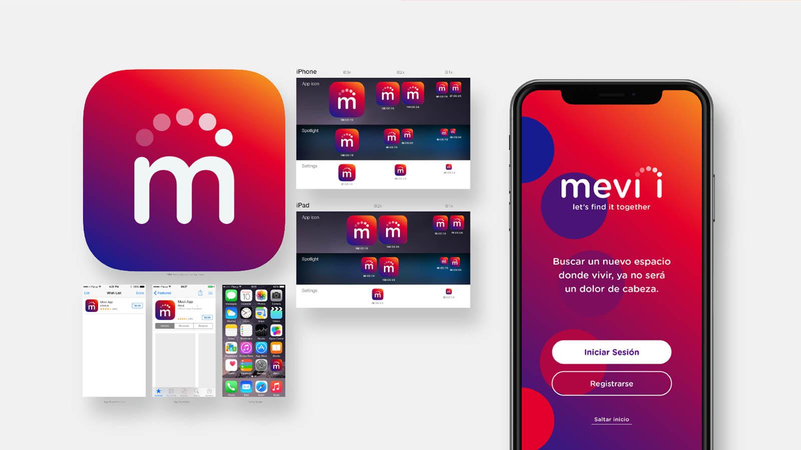 apps aplicaciones diseño mevii