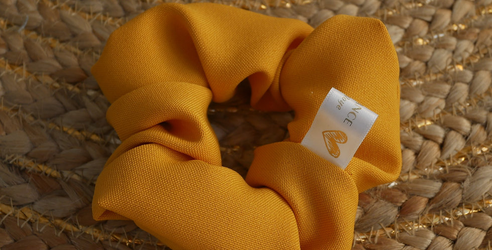 Chouchou LEA ( jaune moutarde )