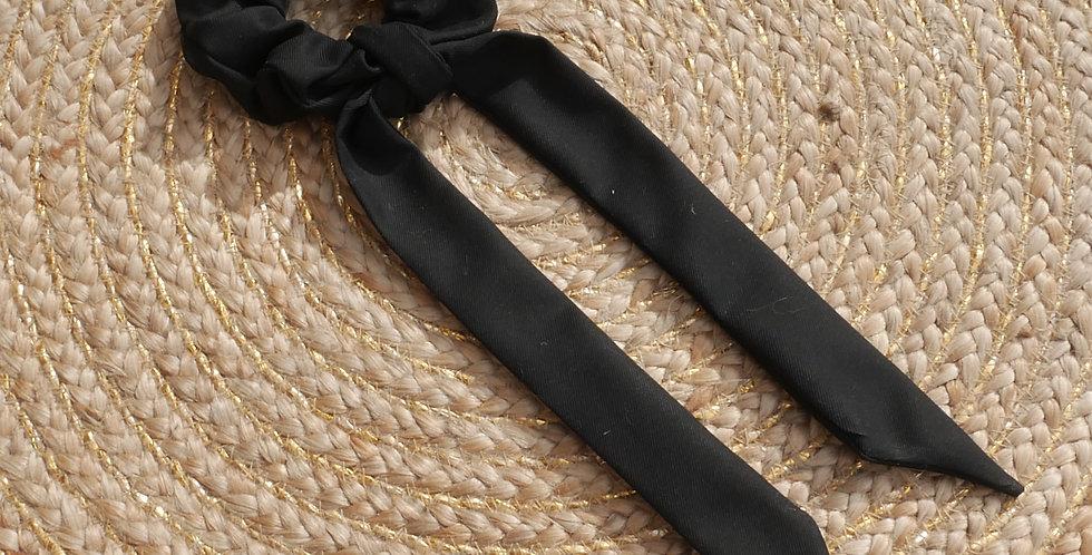 Chouchou foulard Léa ( noir )