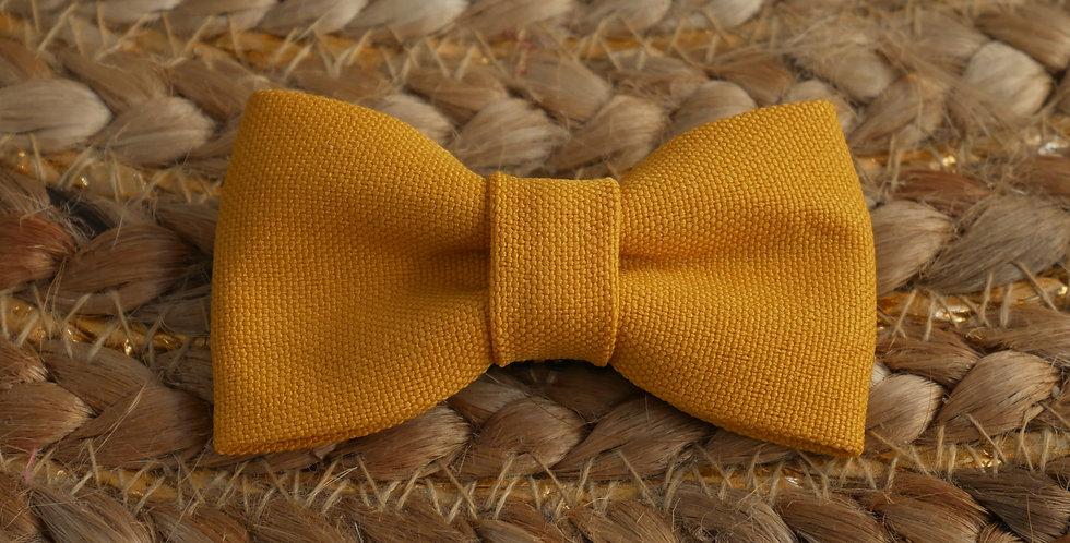 Barrette LEA ( jaune moutarde )