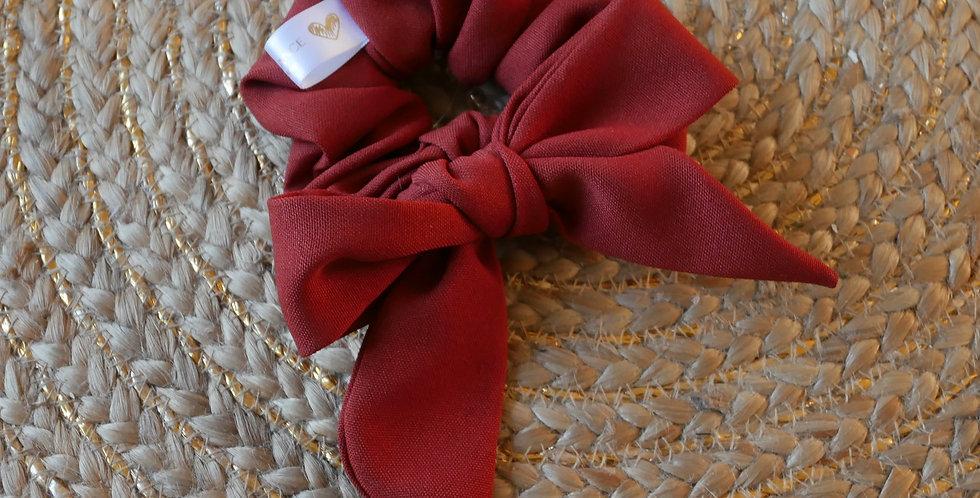 Chouchou foulard LEA ( rouille )