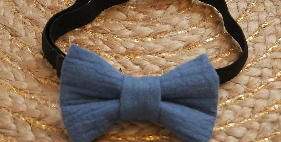 Noeud-papillon enfant EMMA ( bleu )