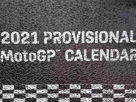 2021 Provisional MotoGP calendar