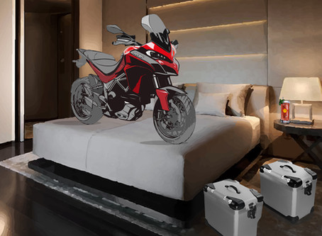 Chiang Mai's Hotel for Motorcycles!