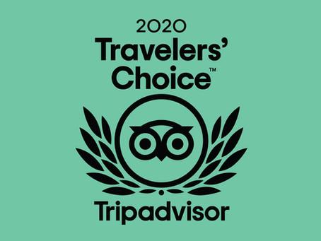DART Asia wins 2020 Tripadvisor Travelers' Choice Award