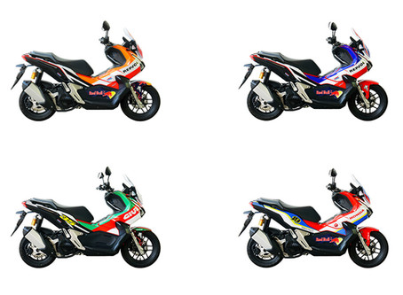 """""""That's a wrap"""" - DART Asia scooters get MotoGP & WSBK styling!"""