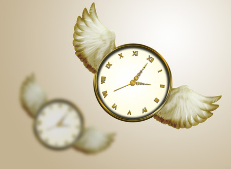 We feel time pass: or do we?