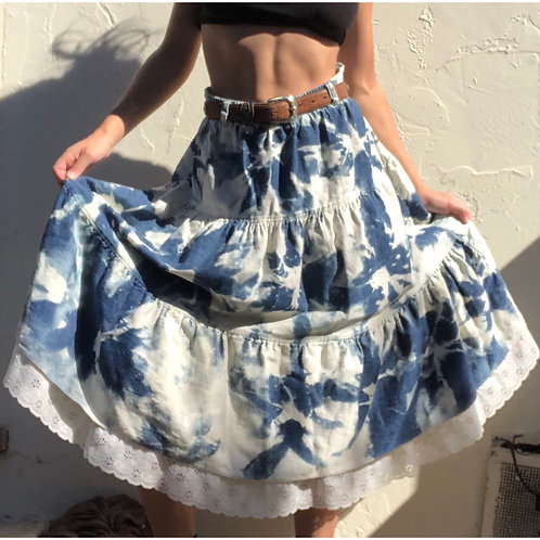 Vintage & Handmade Denim Skirt