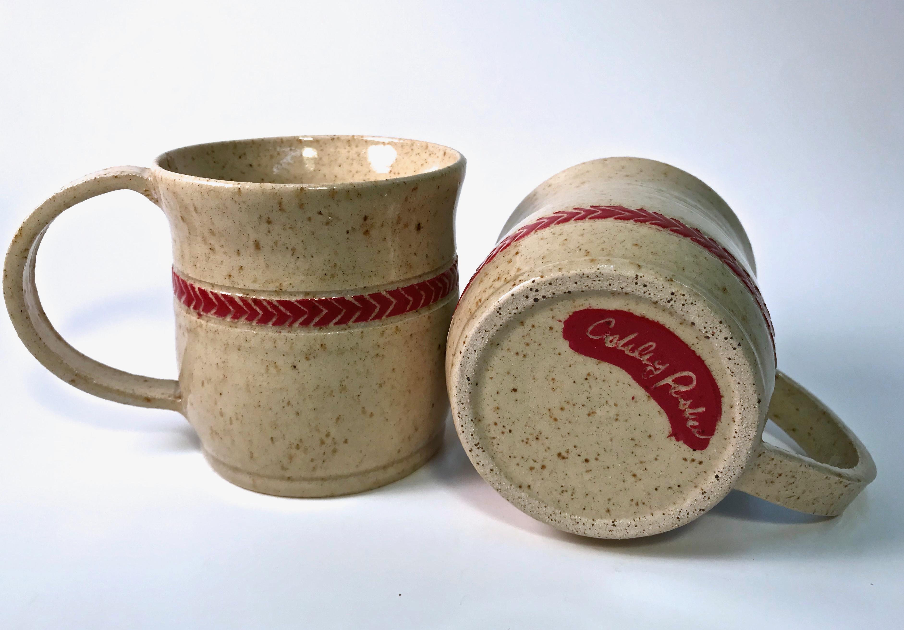 Arrowhead Speckled Mugs