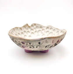 Purple Footed Bowl