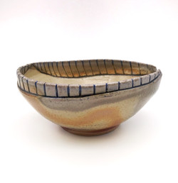 Double Rim Bowl (Wood Fired)