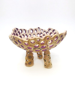 Key Bowl with Legs