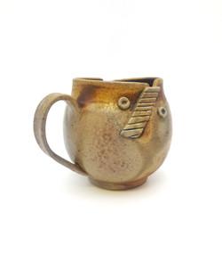 Stitched Rim Mug (Wood Fired)