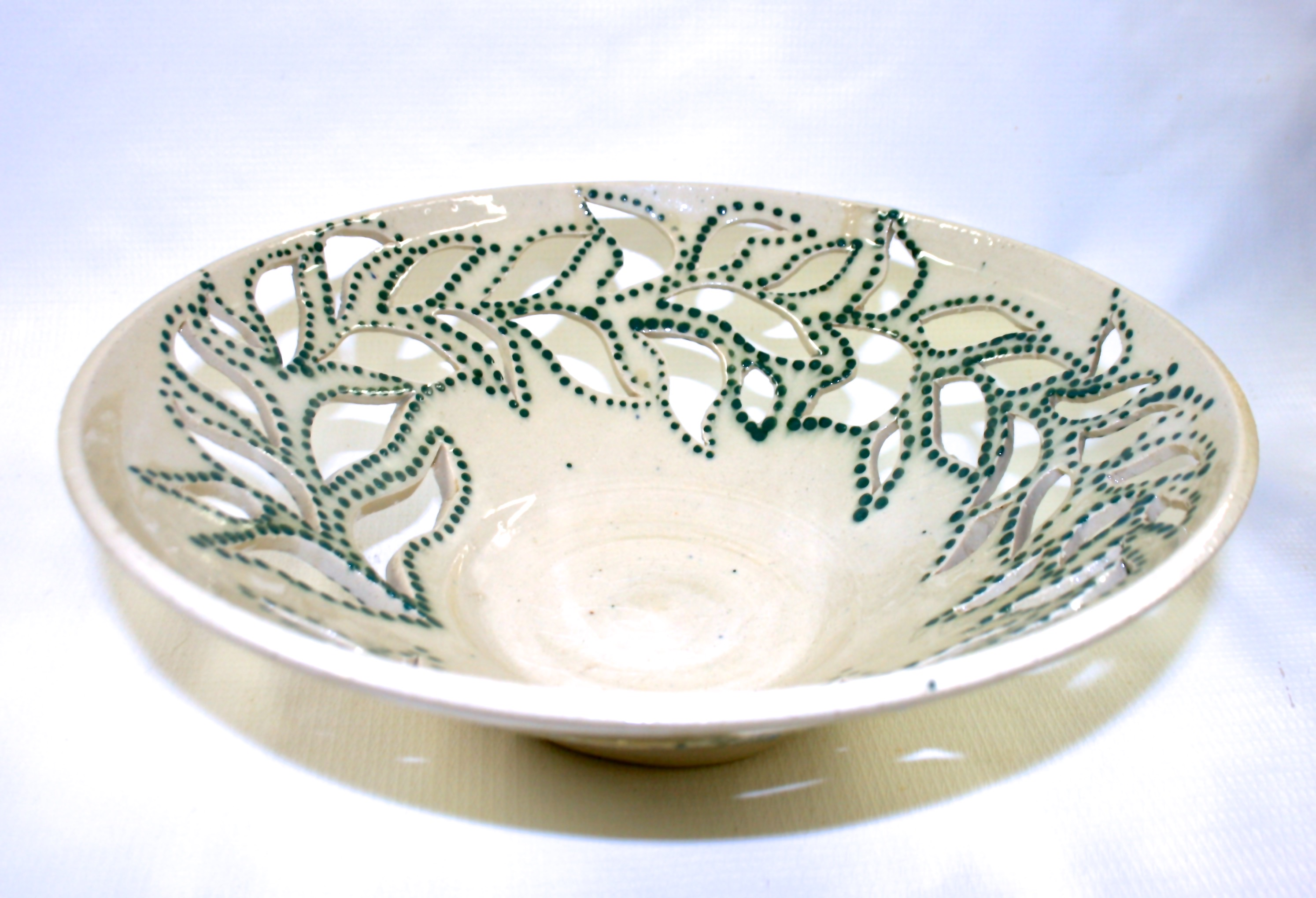 Dotted Pierced Bowl