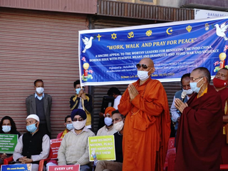 Ladakh Buddhist Monk Leads A Campaign for Peaceful Resolution of Border Conflict