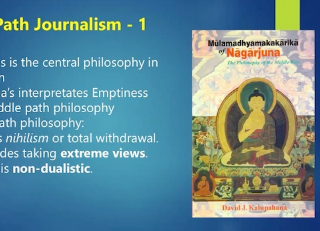 Buddhists Map A New Paradigm for Dev. Communication