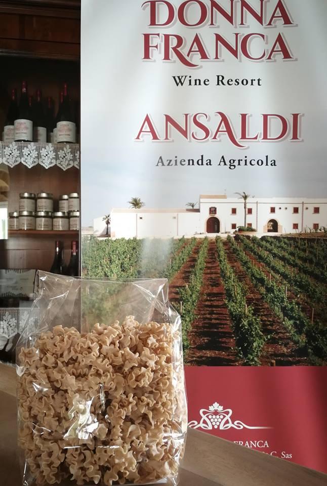 Lasagnette, da grani antichi Ansaldi