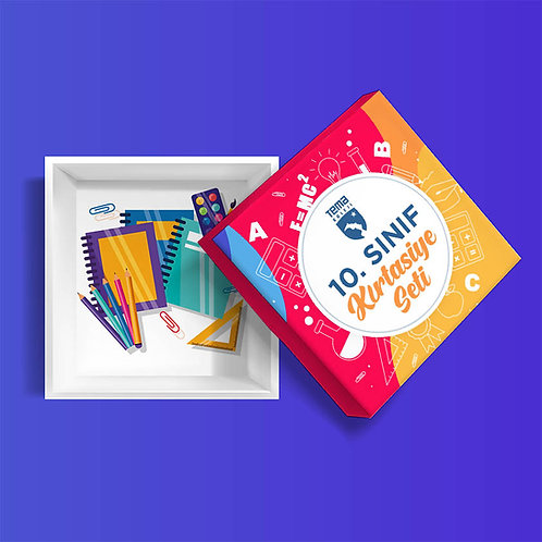 10. Sınıf Kırtasiye İhtiyaç Paketi (Sadece Görsel Sanatlar Seçimi İçin)