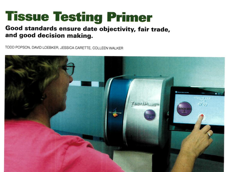 New Article on Tissue Testing