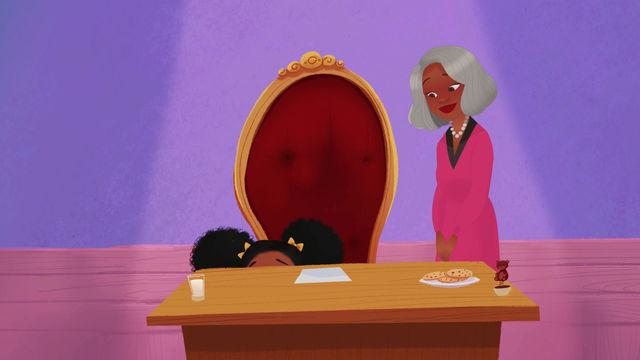 Take a look at Grandma Gwen and Jasmine. Stay Tuned to see what Grandma Gwen and Jasmine does next.