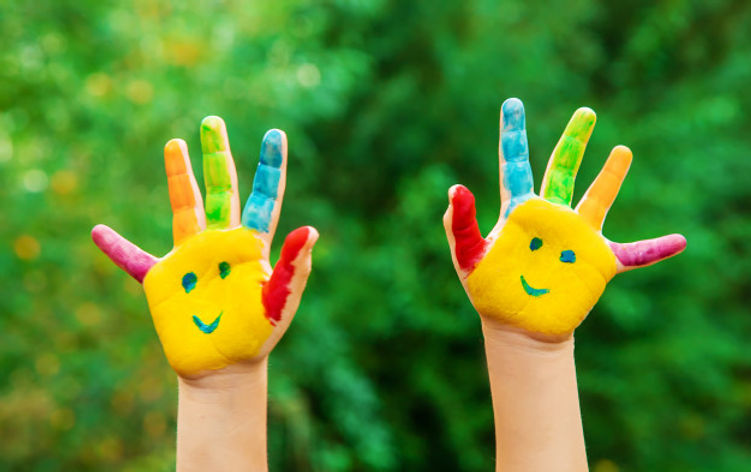 children-hands-colors-summer-photo-selec
