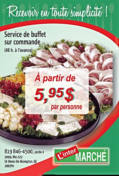 Buffet InterMarché