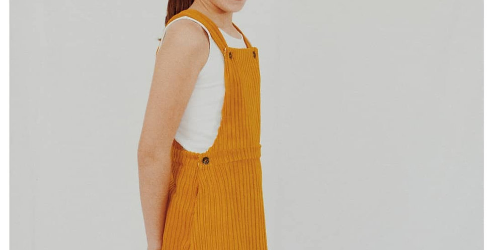 Lou & Me Couture - Vestido Peto Late Summer - de 2 a 12 años