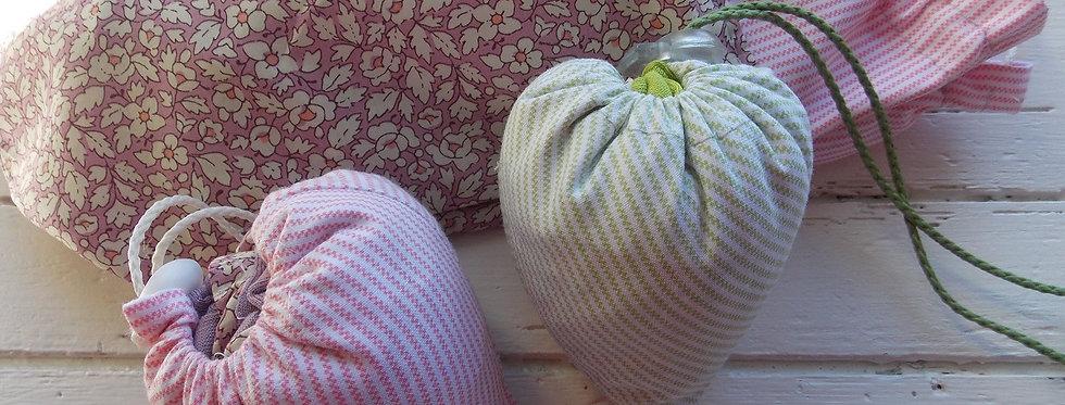 Les Patrons de Kate - Eco-friendly heart bag