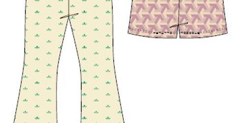 Sirena Patterns - Pantalones Nilma- de la XS a la XL