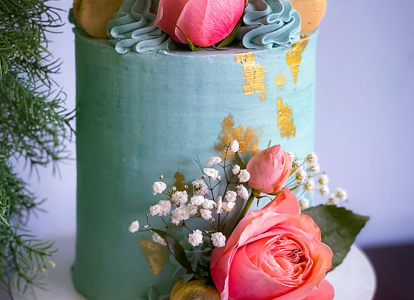 Custom Whiskey Cake