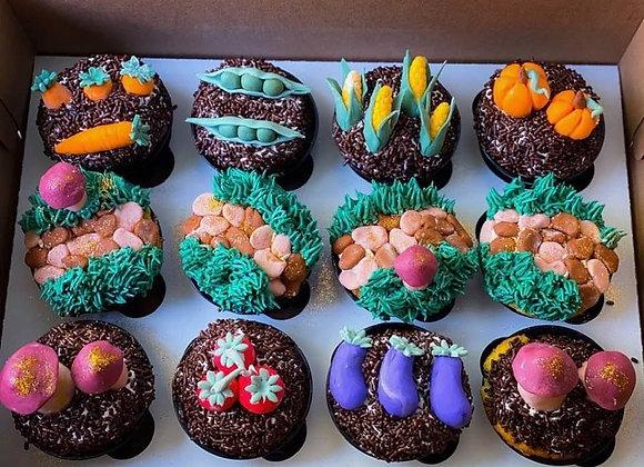Vegetable Garden-Cupcakes