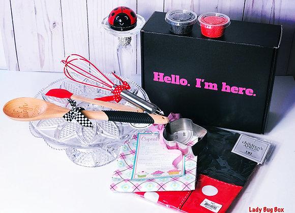 """Lady Bug """"Little Baker's"""" Gift Box"""