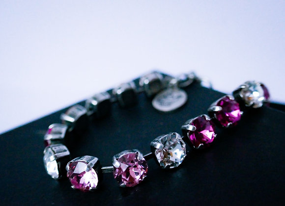 Rose-Crystal Bracelet
