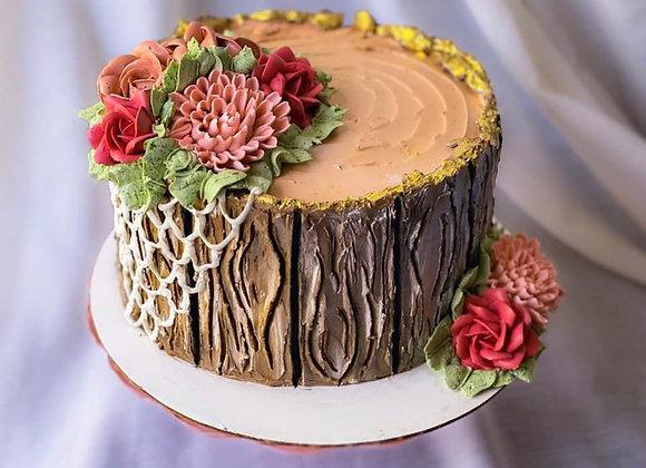 Whiskey Cream Cake