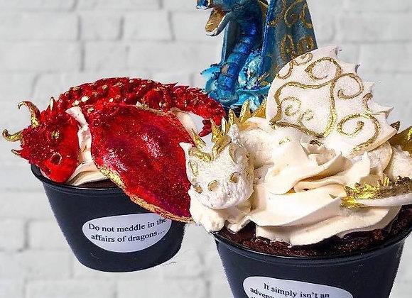 3D Dragon Cakes